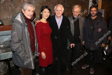 Stock Picture of Claude Lelouch, Fleur Pellerin John Boorman, Costa Gavras and guest