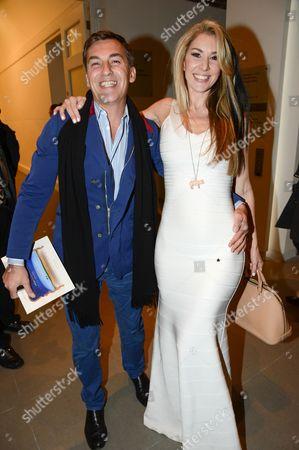 Robin Cook and Stasha Palos