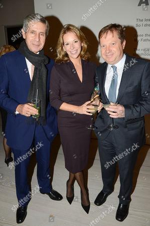 Sir Stuart Rose, Celia Dunstone and Charles Dunstone