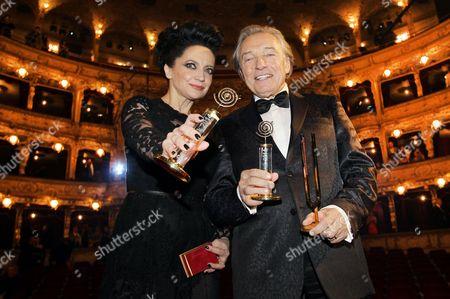 Editorial photo of Nightingale Music Awards, Prague, Czech Republic - 29 Nov 2014