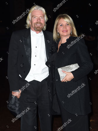 Sir Richard Branson and Joan Branson