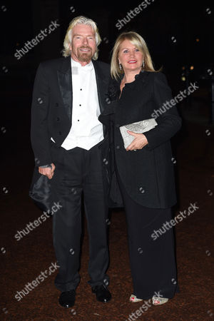 Stock Picture of Sir Richard Branson and Joan Branson