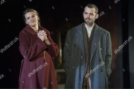 Editorial picture of '3 Winters' Play by Tena Stivicic performed at the Lyttelton Theatre, Royal National Theatre, London,Britain, 2 Dec 2014