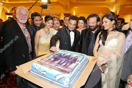 Barrie Osborne; Samrat Chakrabarti; Pooja Kumar; Kamal Haasan; Shekhar Kupar; Andrea Jeremiah