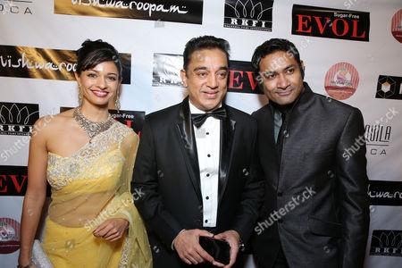 Pooja Kumar; Kamal Haasan; Samrat Chakrabarti