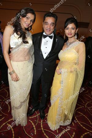 Andrea Jeremiah; Pooja Kumar; Kamal Haasan
