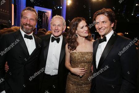 Stock Image of Rainer Andreesen, Victor Garber, Jennifer Garner and Bradley Cooper