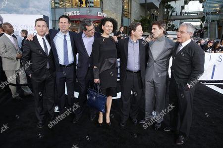Dylan Clark, Peter Chernin, Donna Langley, Adam Fogelson, Tom Cruise, Ron Meyer, Josh Goldstine