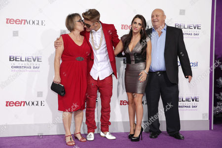 Diane Dale, Justin Bieber, Pattie Mallette, Bruce Dale