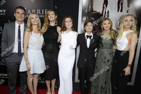 Julianne Moore, Chloe Grace Moretz, Kimberly Peirce, Judy Greer, Portia Doubleday, Alex Russell, Cynthia Preston