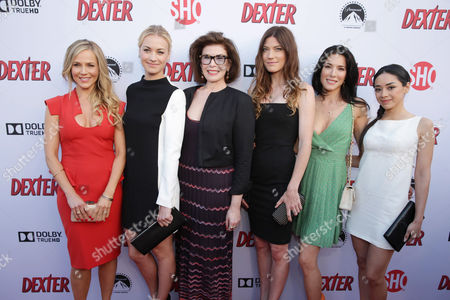 Jennifer Carpenter, Julie Benz, Yvonne Strahovski, Jaime Murray, Aimee Garcia, Sara Colleton