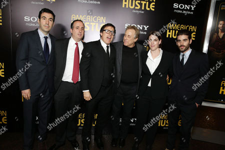 Jonathan Gordon, Richard Suckle, David O. Russell, Charles Roven, Megan Ellison, Matthew Budman