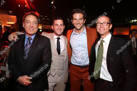 Kevin Huvane, Dan Bugilari, Bradley Cooper, Richard Lovett