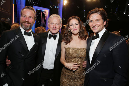 Stock Photo of Rainer Andreesen, Victor Garber, Jennifer Garner and Bradley Cooper