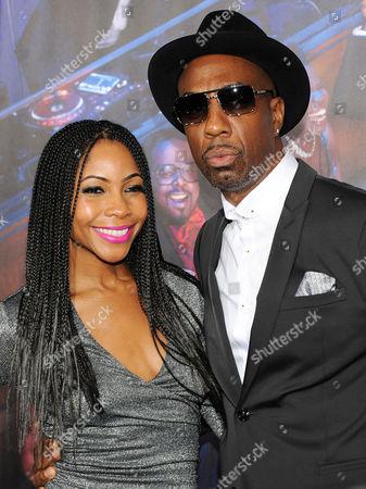 J B Smoove with wife Shahidah Omar