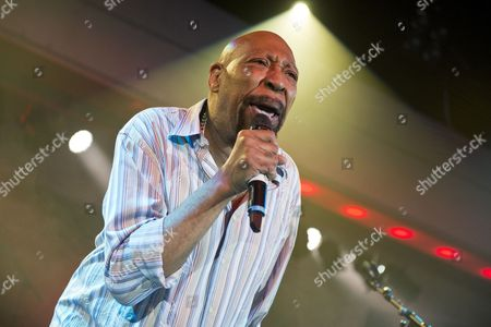 Skegness United Kingdom - January 25: American Rhythm And Blues Musician Geno Washington Performing Live On Stage At The Great British Rock And Blues Festival In Skegness On January 25