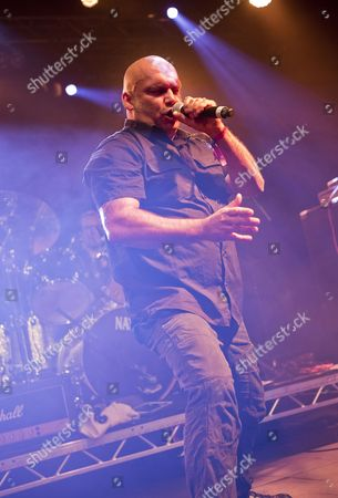 Pwllheli United Kingdom - November 30: Heavy Metal Vocalist Blaze Bayley Performing Live On Stage At The 2013 Hard Rock Hell Festival In Pwllheli Wales On November 30