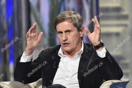 Editorial picture of 'Porta a Porta' TV programme, Rome, Italy - 03 Dec 2014