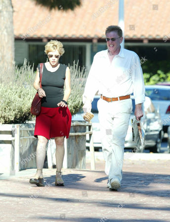 WILLIAM ATHERTON WITH A WOMAN FRIEND