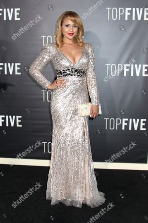 Editorial image of 'Top Five' film premiere,  New York, America - 03 Dec 2014