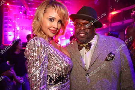 Hayley Marie Norman and Cedric the Entertainer