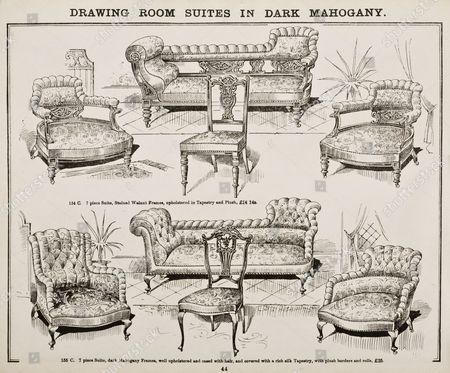 Page from 'Catalogue of Latest Designs in General Furniture' 1901