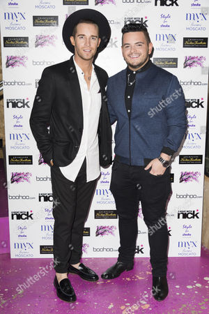 Stock Photo of Jay James and Paul Akister