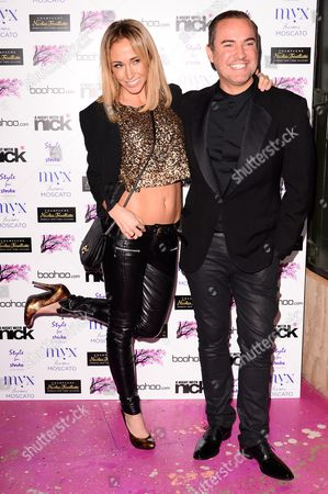 Stock Picture of Jenny Frost and Nick Ede