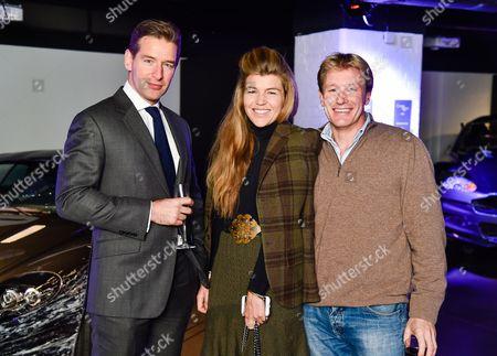 Timothy Barraclough, Amber Nuttall, Alistair Gosling