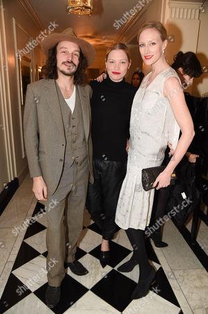 Gus Robertson, Sarah Gilmour and Jade Parfitt