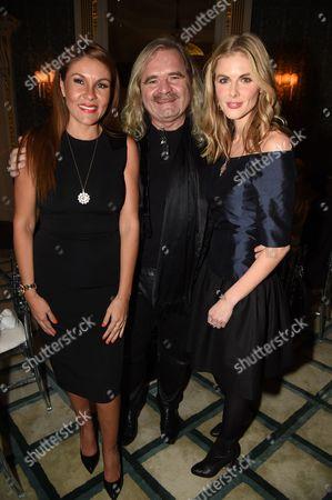 Luz-Enith Sabo, Thomas Sabo and Donna Air