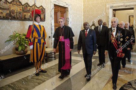 President of Mozambique Armando Guebuza