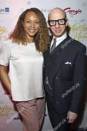 Angela Griffin and Steve Furst