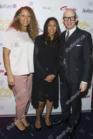 Angela Griffin, Sita McIntosh and Steve Furst