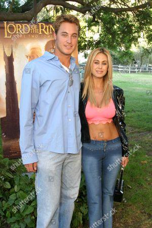 Tyler Ostrander and Shauna Sands