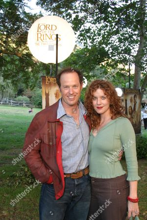 Raphael Sbarge and Lisa Akey