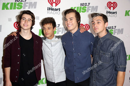 Nash Grier, Cody Johns, Marcus Johns, and Cameron Dallas