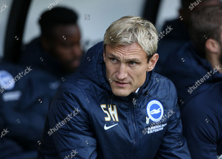 Brighton and Hove Albion's manager Sami Hyypia