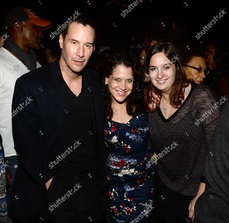 Stock Image of Keanu Reeves, Jennifer DeLia, Julie Pacino