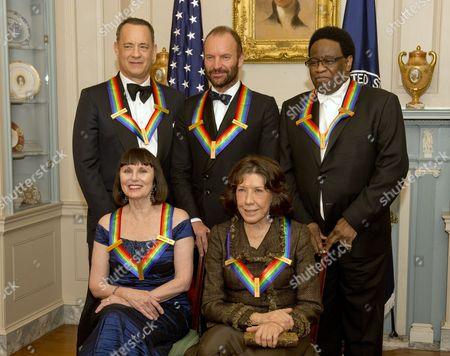 Tom Hanks, Sting, Al Green, Patricia McBride, Lily Tomlin