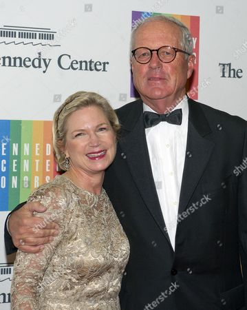 James A. Johnson, former CEO of Fannie Mae and former chairman of the John F. Kennedy Center for the Arts, and Heather Kirby