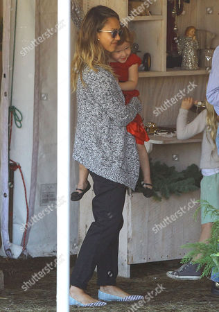 Jessica Alba and Daughter Haven Garner Warren