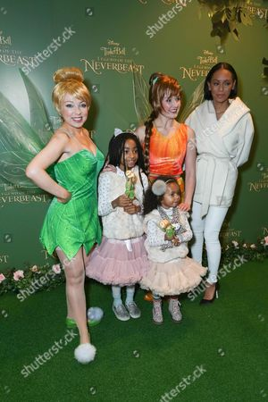 Editorial image of 'Tinkerbell and the Legend of the Neverbeast' gala film screening, London, Britain - 07 Dec 2014