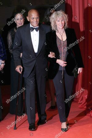 Harry Belafonte and wife Pamela