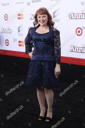 Editorial photo of 'Annie' film premiere, New York, America - 07 Dec 2014