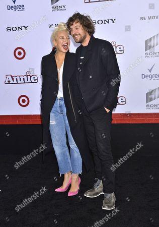Sia Furler and Erik Anders Lang