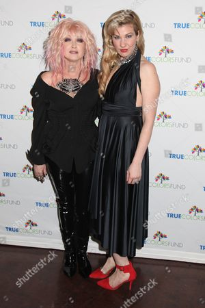 Cyndi Lauper and Emily West