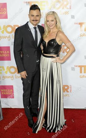 Stock Photo of Candice Accola and Joe King