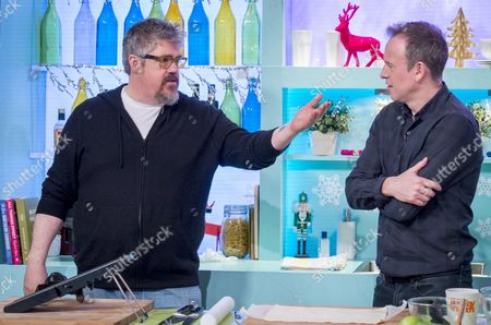 Phill Jupitus and Tim Lovejoy