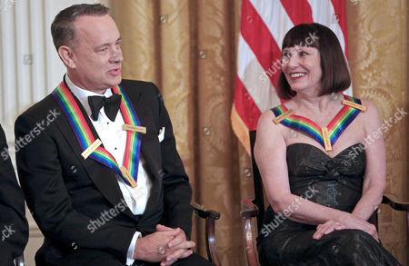 Tom Hanks and Patricia McBride